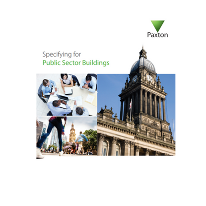 Picture of Specifying for Public Sector Buildings