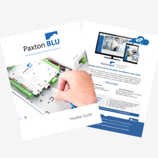 Picture of Paxton BLU Dealer Guide