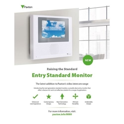 Picture of Entry Standard Monitor Customer Leaflet (US only)
